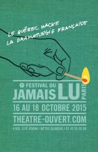 1er Festival du Jamais Lu Paris